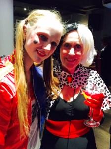 Harley Quinn and Cruella de Ville.