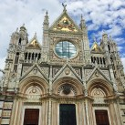 One of the beautiful churches in Siena.