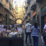 Porta Alba is lined with book shops.
