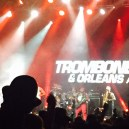 The view at Trombone Shorty. He could play the trombone, trumpet and drums AND sing. He was a legend.