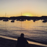 So DD took me for a gorgeous swim at Bilgola and then we headed to Clareville to watch a sunset instead.