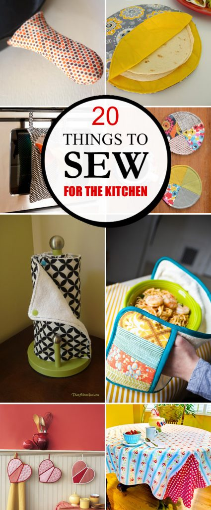 20 Pretty and Practical Things to Sew for the Kitchen  House Good