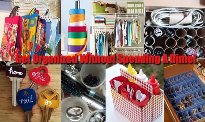 DIY Storage Organizers Simple Ways To Get Organized