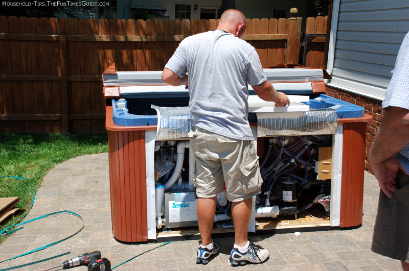 Getting To Know Our ThermoSpas Hot Tub From Delivery To