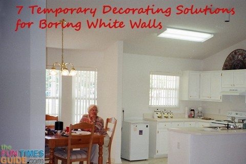 White Wall Decor 7 Temporary Decorating Solutions For Boring White Walls Great For Renters