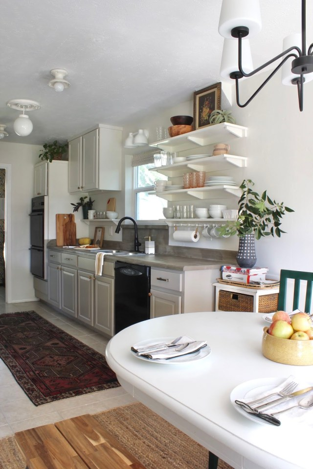 One room challenge budget kitchen makeover | House Homemade