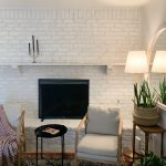 overgrouted fireplace