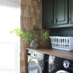 cedar shingles in laundry