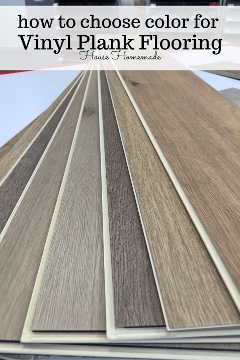 PIN: How to choose color for vinyl plank flooring