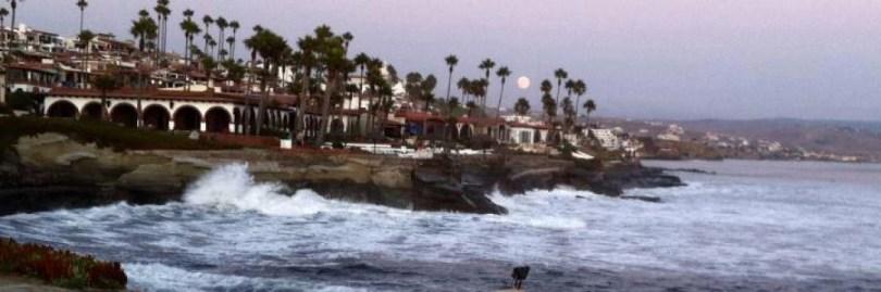 Moon rise in Las Gaviotas