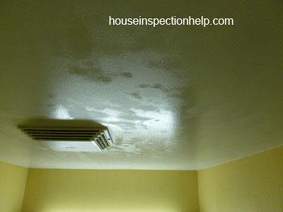 Condensation Shower Ceiling Problem