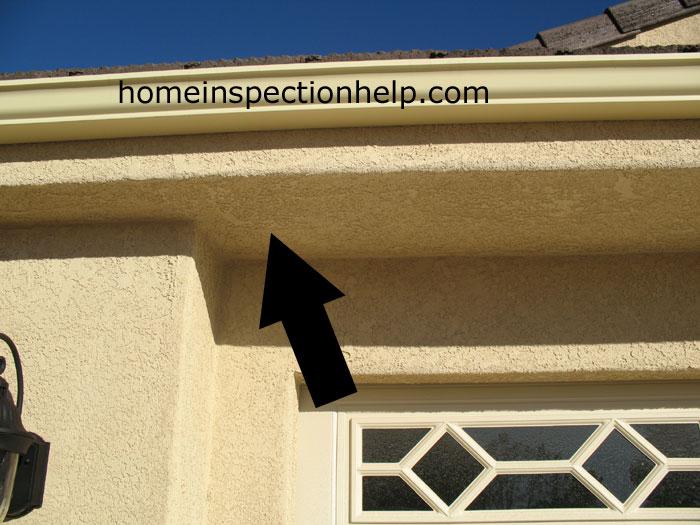 Exterior Stucco Roof Overhang