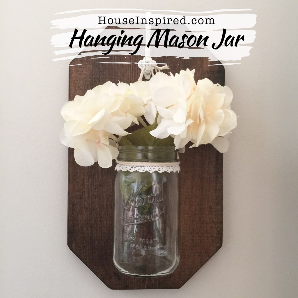 DIY Hanging Mason Jars