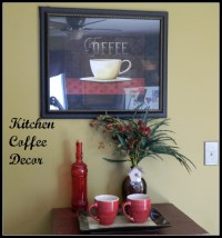 Coffee Themed Kitchen