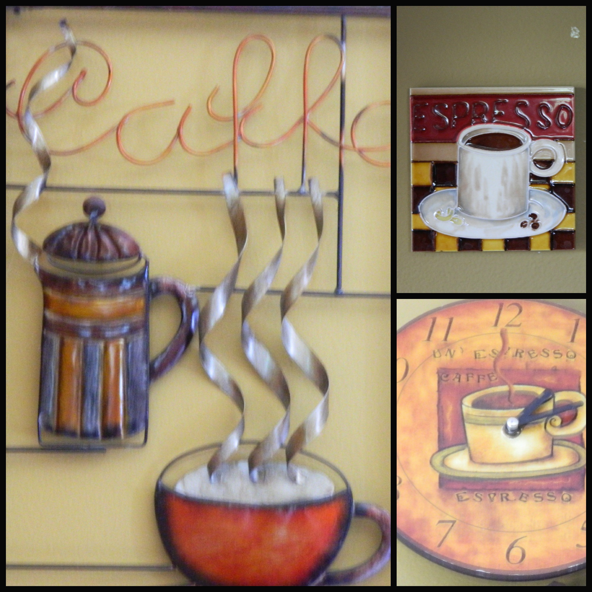 coffee decoration for kitchen chairs sale themed