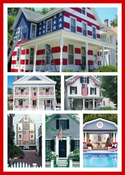Houses Decorated For The 4th Of July Amp Decor Ideas