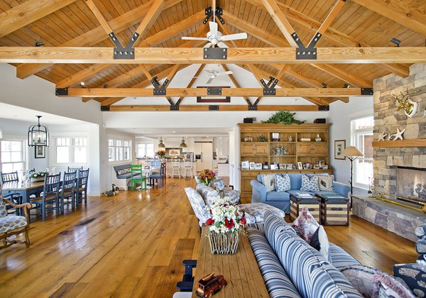 farmhouse kitchen sink for sale polish cabinets beach house - california dreamin in ocean blue & white