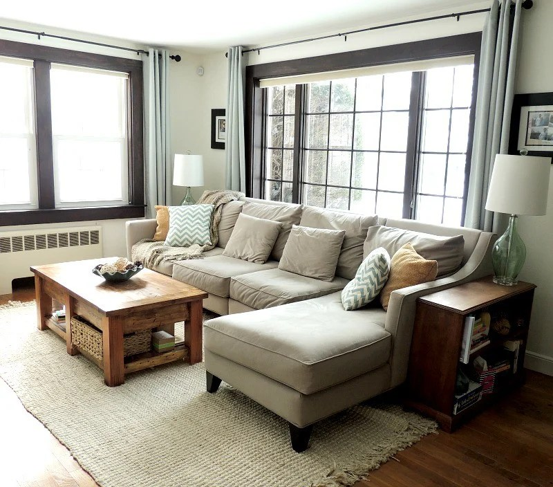 cape cod style house living room window treatment ideas for picture home tour with a wife in progress happy makeover