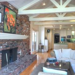 Countertops For Kitchen Drop Lights Sean Penn House In Malibu California