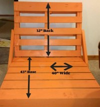 How To Build a Simple Pallet Lounge Chair