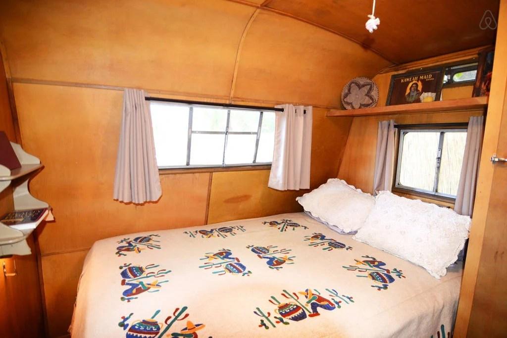 Travel Trailer is a 1954 Prairie Schooner Camper