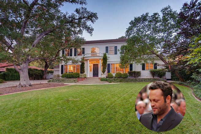 Vince Vaughns Colonial Mansion in California