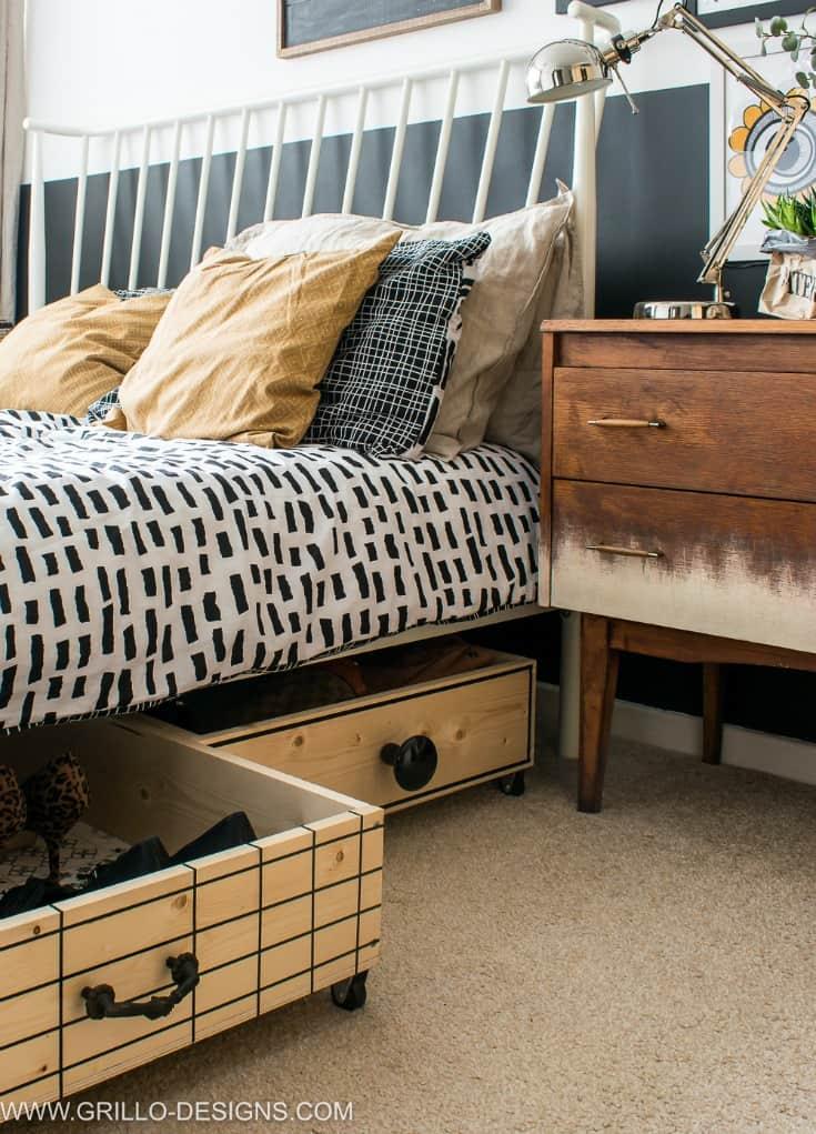 comment faire des lits avec rangement
