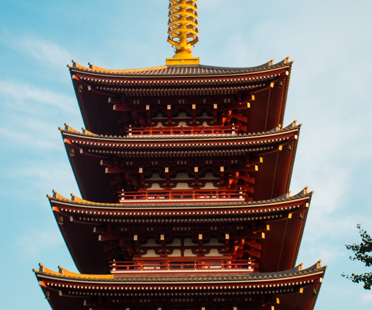 Japan real estate financial planning low-risk investment five-story pagoda symbolizing the five great diseases that comprise the last 62.5% of the Eight Great Diseases in this article about life insurance