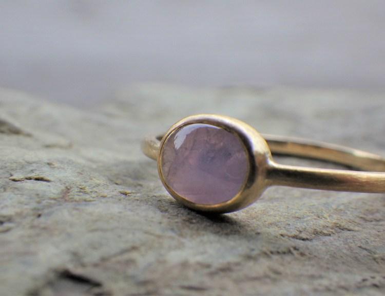 Star Sapphire x 18K ring (gr-6)_1