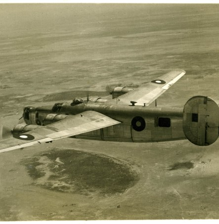 Liberator class used to repatriate FEPOW
