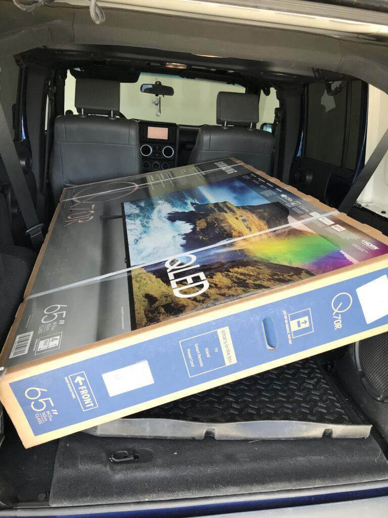 Can a 65-inch TV Fit in a Car? - Volt Fixer