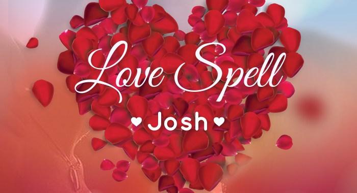 New Music – Josh (@JoshSingz) – Love Spell