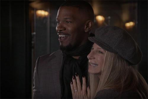 "Video: Watch: Jamie Foxx and Barbra Streisand Team Up on ""Climb Ev'ry Mountain"