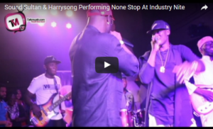 houseofaceonline.com-VIDEO-Sound-Sultan-Harrysongz Performing None Stop At Industry Nite