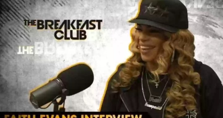 Faith Evans Talks Biggie's Legacy, Her Relationship with Lil' Kim and More on 'The Breakfast Club'