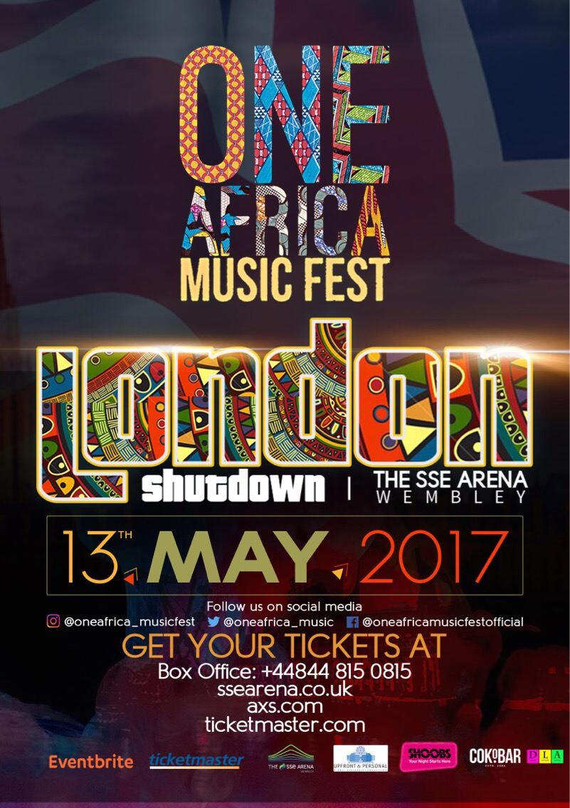 JIDENNA & GHANA'S BIGGEST RAP STAR SARKODIE ADDED TO ONE AFRICA MUSIC FEST LONDON LINE UP