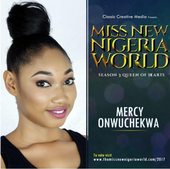 See the finalists of this year's Miss New Nigeria World 2017 Pageant