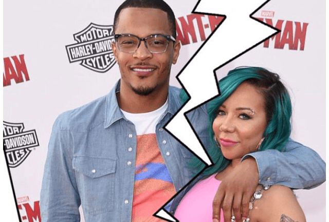T.I. TELLS HIS WIFE TINY HE'S OUT & WANTS DIVORCE TO BE WITH HIS NEW GIRL BERNICE
