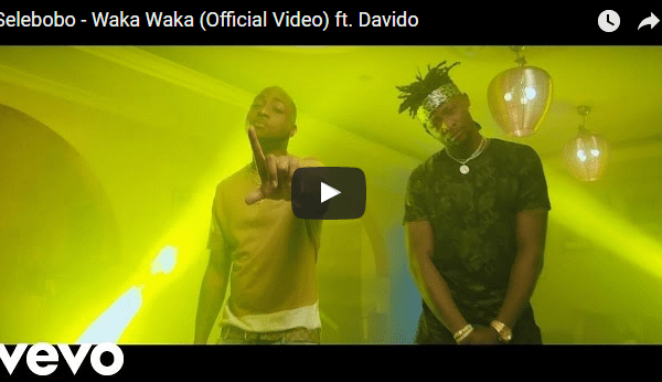 Video: Selebobo – Waka Waka Ft. Davido