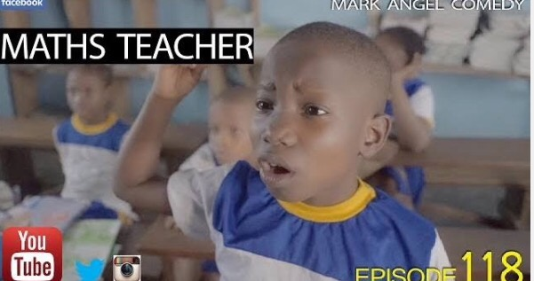 Comedy Video: Mark Angel - Maths Teacher (Episode 118)