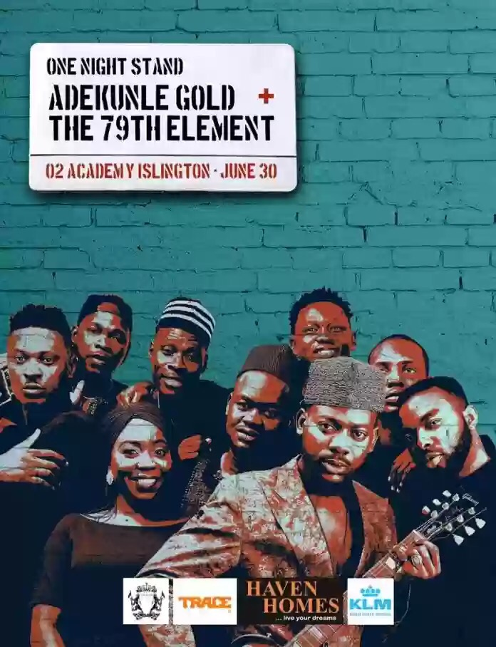 Adekunle Gold To Tour London, Dublin, Paris & More