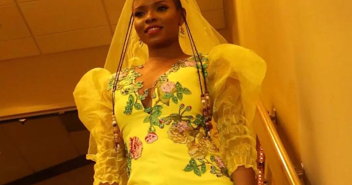 See Yemi Alade's Bridal Outfit For Chicago Concert [Photos]