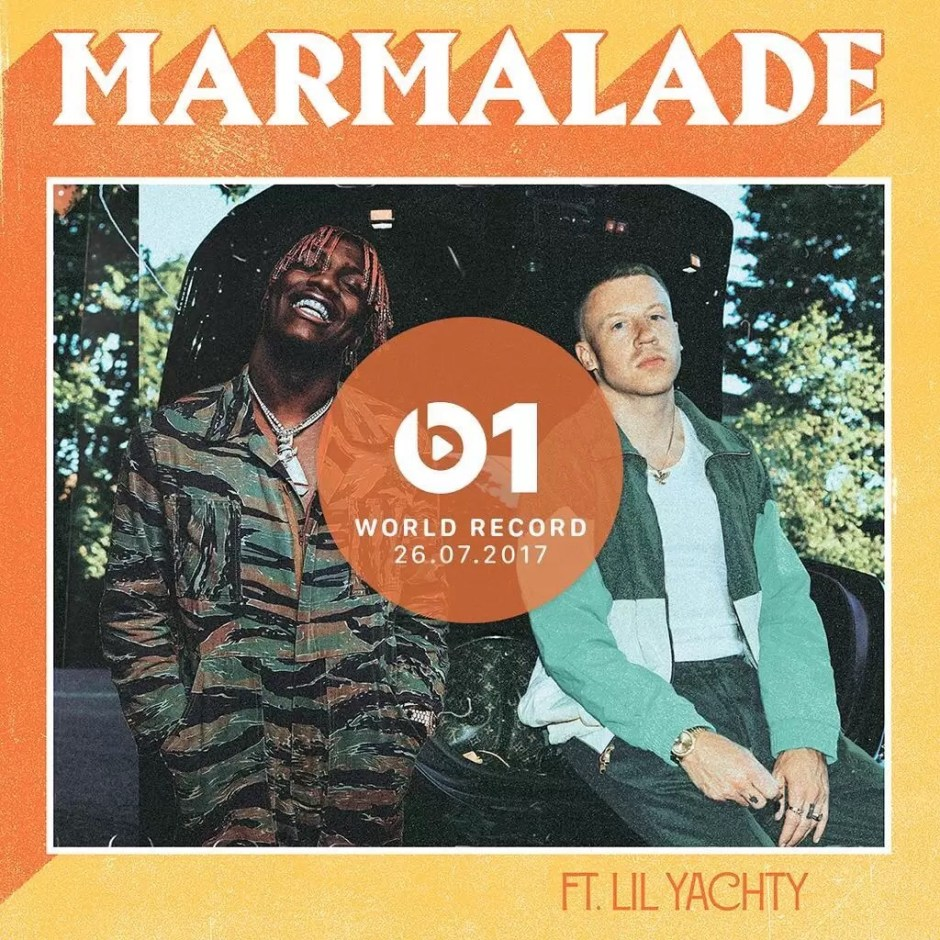 New Music: Macklemore – Marmalade Ft Lil Yachty