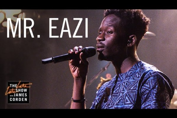 Watch Mr Eazi Performs Live On The Late Late Show With James Corden