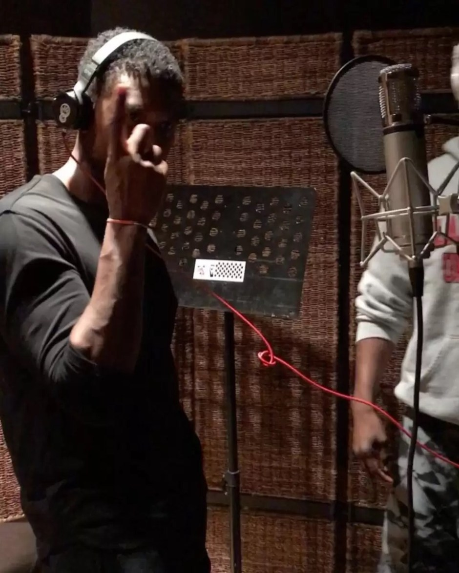 Usher Is Back In The Studio with Jermaine Dupri & Bryan-Michael Cox