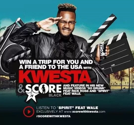 Download Kwesta ft Wale – Spirit Song