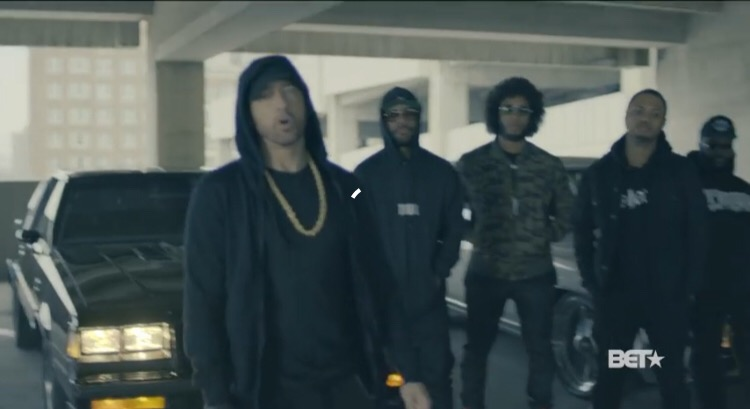 Watch Eminem Rip Donald Trump In BET HipHop Awards 2017 Freestyle Cypher