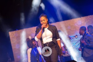Ashaiman Concert: Joyce Blessing Outshines Secular Musicians With Live Performance