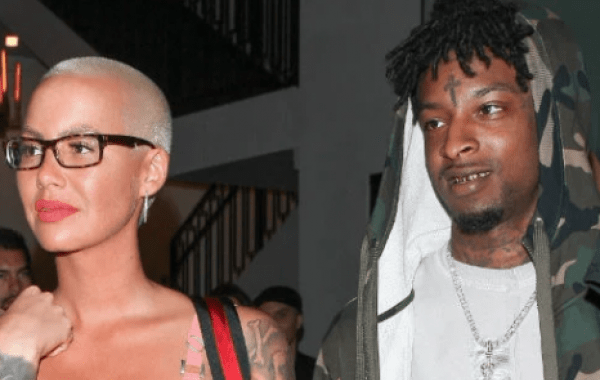 AMBER ROSE PREGNANT WITH 21 SAVAGE BABY [PICTURES OF HER BELLY INSIDE]