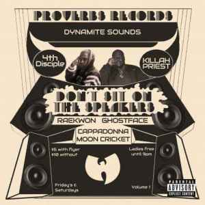 Download Killah Priest & 4th Disciple – Don't Sit On The Speakers Vol. 1 album